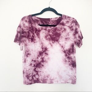 American Eagle Soft and Sexy Tie Dye Crop Top xs